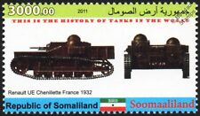 1932 RENAULT UE CHENILLETTE Tank Stamp #24 of 88 (France / InterWar)
