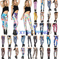 Women's Yoga Pants Fitness Leggings Running Joggers Gym Exercise Sports Trousers