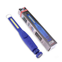 LED COB Battery Powered Work Light Portable Torch Magnetic Inspection Flashlight