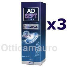 AOSEPT PLUS® CON HYDRAGLYDE® ALCON SOLUZIONE 360 ML Offerta 3 pezzi X 360 ml