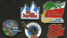 LOT 5 PINS CIGARETTE PETER STUYVESANT COLLECTION