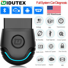 Bluetooth OBD2 Scanner Code Reader Full System ABS SRS EPB Transmission OilReset