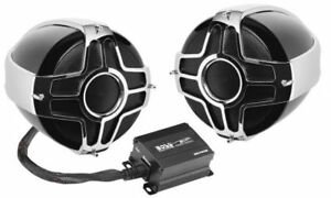 "BOSS AUDIO 1000 WATT 4"" 2 SPEAKER SOUND SYSTEM HONDA MOTORCYCLES ALL"