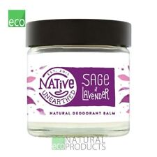 Native Unearthed Natural Deodrant Balm Lavender and Sage 60ml