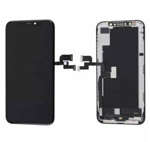 Display Digitizer For iPhone X 10 Black Replacement LCD Touch Screen & Frame UK