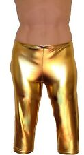 SALE MENS SHINY RUBBER GLOSSY WET LOOK TIGHT CYCLE  SEXY SHORTS XS  - 6XL