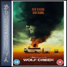 WOLF CREEK - COMPLETE SERIES 2 Starring John Jarratt and Lucy Fry BRAND NEW DVD