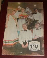 FLINT,MI TV JOURNAL GUIDE~LOVE BOAT~SHARI LEWIS~RICK PORTER ANOTHER WORLD SOAP