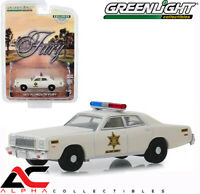 GREENLIGHT 30110 1:64 1977 PLYMOUTH FURY HAZZARD COUNTY SHERIFF ROSCO
