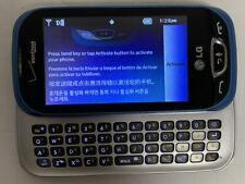 LG VN280 Extravert 2 Verizon Cell Slide Phone Voice Dialing Slide Touch Screen