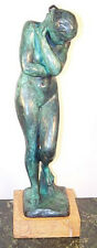 Exclusive Modern Art Artist Bronze Eva Sign. Rodin