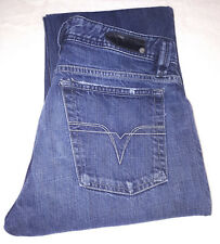 "Diesel Industry Jeans W32 L32 ""Levan"" Regular Fit Distressed Dark Wash"