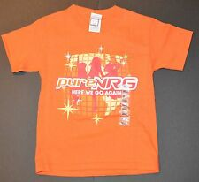 Pure NRG Youth Size Small 6/8 Christian Tee Shirt  Here We Go Again Tween Music