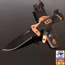 Gerber Bear Grylls Survival Ultimate Pro Knife with Flint amp Whistle WIL-DK-47