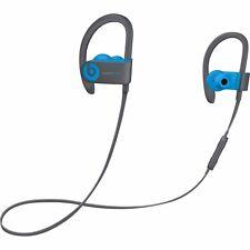 $270 APPLE POWER BEATS 3 WIRELESS by DRE BLUE IN-EAR EARBUDS HEADPHONES MUSIC