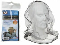 MOSQUITO MESH HEAD NET TRAVEL PROTECTOR CAMPING BUGS FLIES FACE NETTING MIDGE