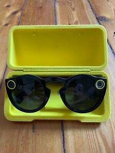 👓 Snap Inc. : Snapchat Spectacles - schwarz • First-Generation Spectacle Black