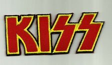KISS EMBROIDERED PATCH Sew or Iron on NEW UNUSED