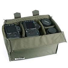 Insertar partición Diy Acolchado bolsas de cámara caso para Canon Eos 60d 60da 7d 6d