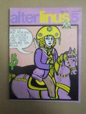 ALTER LINUS n°5 1975 Braccio di ferro Alack Sinner Dick Tracy Crepax [MZ1]