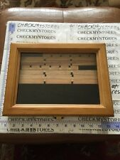 """12""""X9"""" Wooden Glass Top Display Good Condition"""