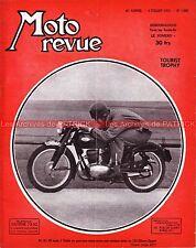 MOTO REVUE 1092 GILERA 125 Sport INDIAN MONET GOYON ARDIE TOURIST TROPHY 1952