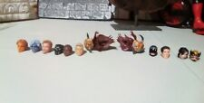 Marvel Legends 13 Heads Lot Custom Fodder