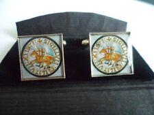 Knights Templar  Seal square  Pewter Cufflinks
