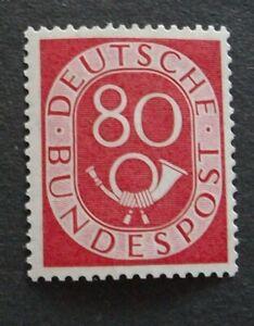 Posthorn MiNr. 137 postfrisch 80 Pfennig