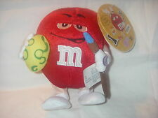 M&M MARS CANDY CO. PLUSH MUSICAL WADDLER LOGO RED M&M's CHARACTER