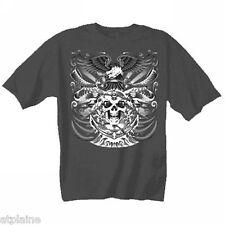 T-Shirt MC SKULL ANCHOR - Taille L - Style BIKER HARLEY