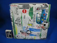 Beautiful 50´s / 60´s design 7 inch record case / Schöne Schallplatten Mappe
