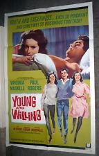 YOUNG AND WILLING Orig Poster IAN MCSHANE/SAMANTHA EGGAR/VIRGINIA MASKELL 1sheet