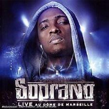 Soprano-Live au Dome de Marseille CD 14 tracks hip hop/rap/pop NEUF