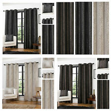 Africa Animal Print Polyester Eyelet/Ring Top Curtain Pairs - TO CLEAR