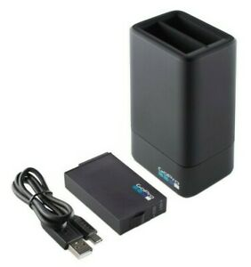 GoPro FUSION Camera Dual Battery Charger + 1600mAh Replacement Battery