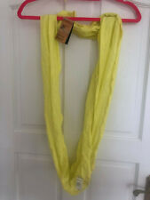 Nike Infinite Twist Scarf Bright Yellow Womens Unisex - NEW
