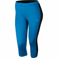 Womens NIKE Dri-Fit Essential Capri Pants Extended Size 3X Blue NWT Plus