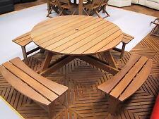 Premium Outdoor Furniture OE Round Table Set - 8 Seater