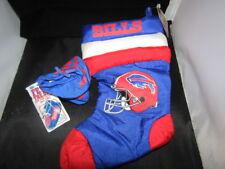Buffalo Bills Christmas Stocking and Booties