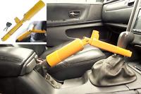 HEAVY DUTY HAND BRAKE CLAMP LOCK CAR VAN 4X4 GEARSTICK SECURITY LOCK 2 KEYS