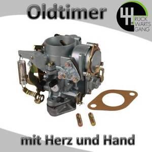 Vergaser 30/31 PICT mit E-Choke für VW Käfer T1 T2 Bus Bulli Kasten Pritsche