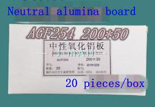 Neutrale /alkalische Alumina Dünnschichtchromatographie Platte agf254 25 *75