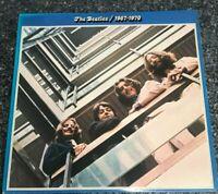 LP THE BEATLES ~ 1967-1970 'BLUE ALBUM' ~  1st UK VINYL PRESS EX/EX