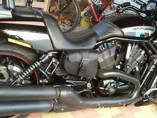 Sacoche latérale en Cuir Big Fermeture ( Kustom Harley v-rod Night rod sportster