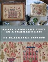 Shall I Compare Thee to a Summer's Day? 12 Page Booklet - Blackbird Designs New