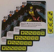4 X Wolverine: Regenerative 106/142 The Amazing Spider-Man Dice Masters