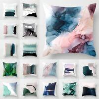 "18"" Geometric Abstract Pillow Case Sofa Car Waist Throw Cushion Cover Home Decor"