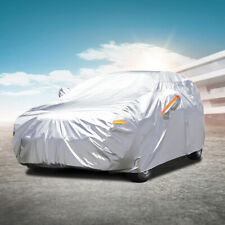 Audew Five Layers Waterproof All Weather Car Cover Rain Sun Uv Dust Protection