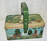 Girl Scout Tin Box Hinged with Bale Handle 2017